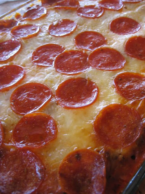 cookin' up north: Spiral Pepperoni Pizza Bake