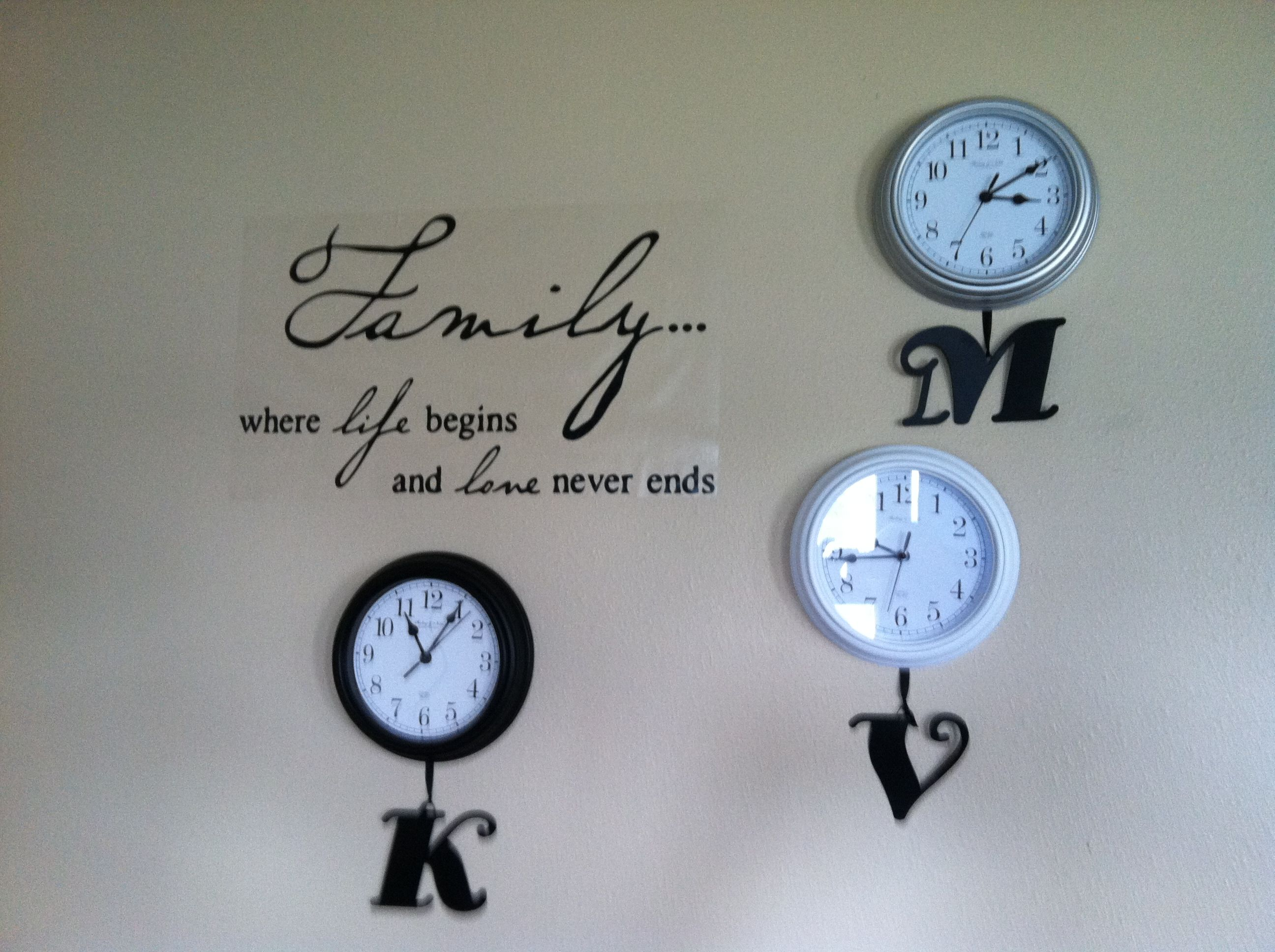 Inexpensive Wall Clock This Is One Of My Favorite Things In My House Right Now
