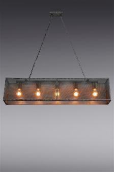 Mesh 5 Light Pendant Pendant Lighting Over Dining Table Rustic