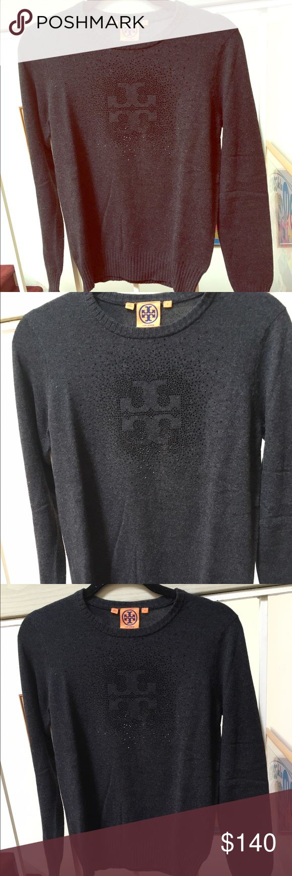 Tory burch wool and cashmere sweater | D, Grey and Wool