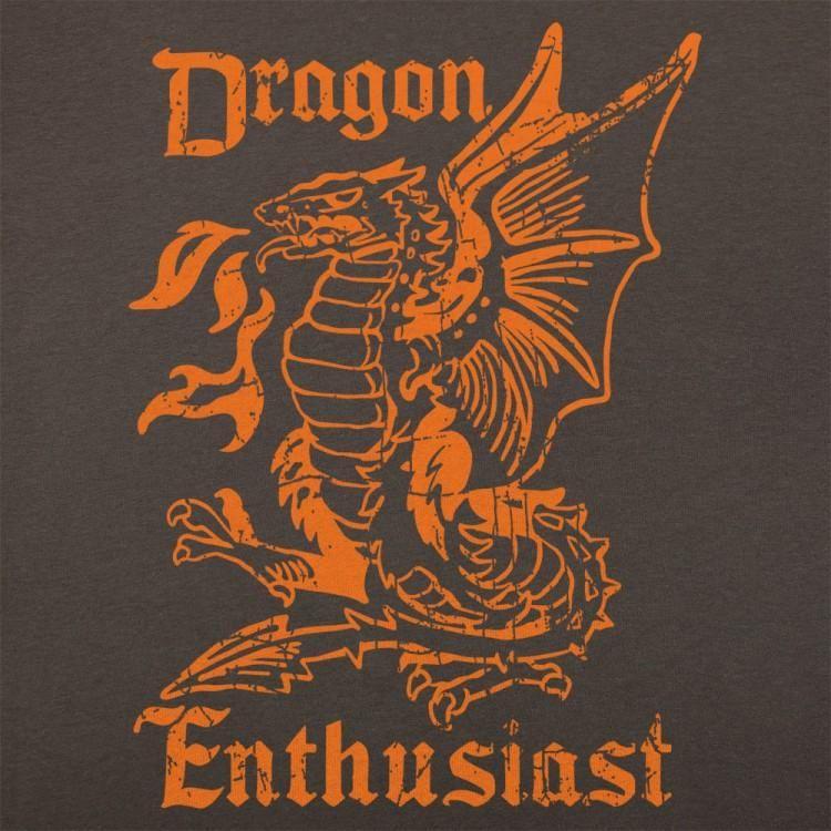 Dragon enthusiast tshirt mens dragon t shirt fantasy
