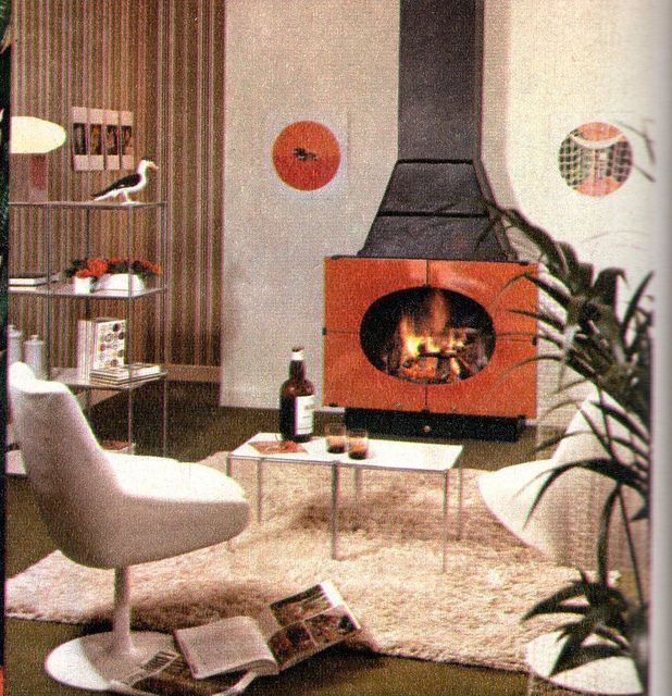 1970s Modern Home Architecture: The 1970s -modern Interior Design