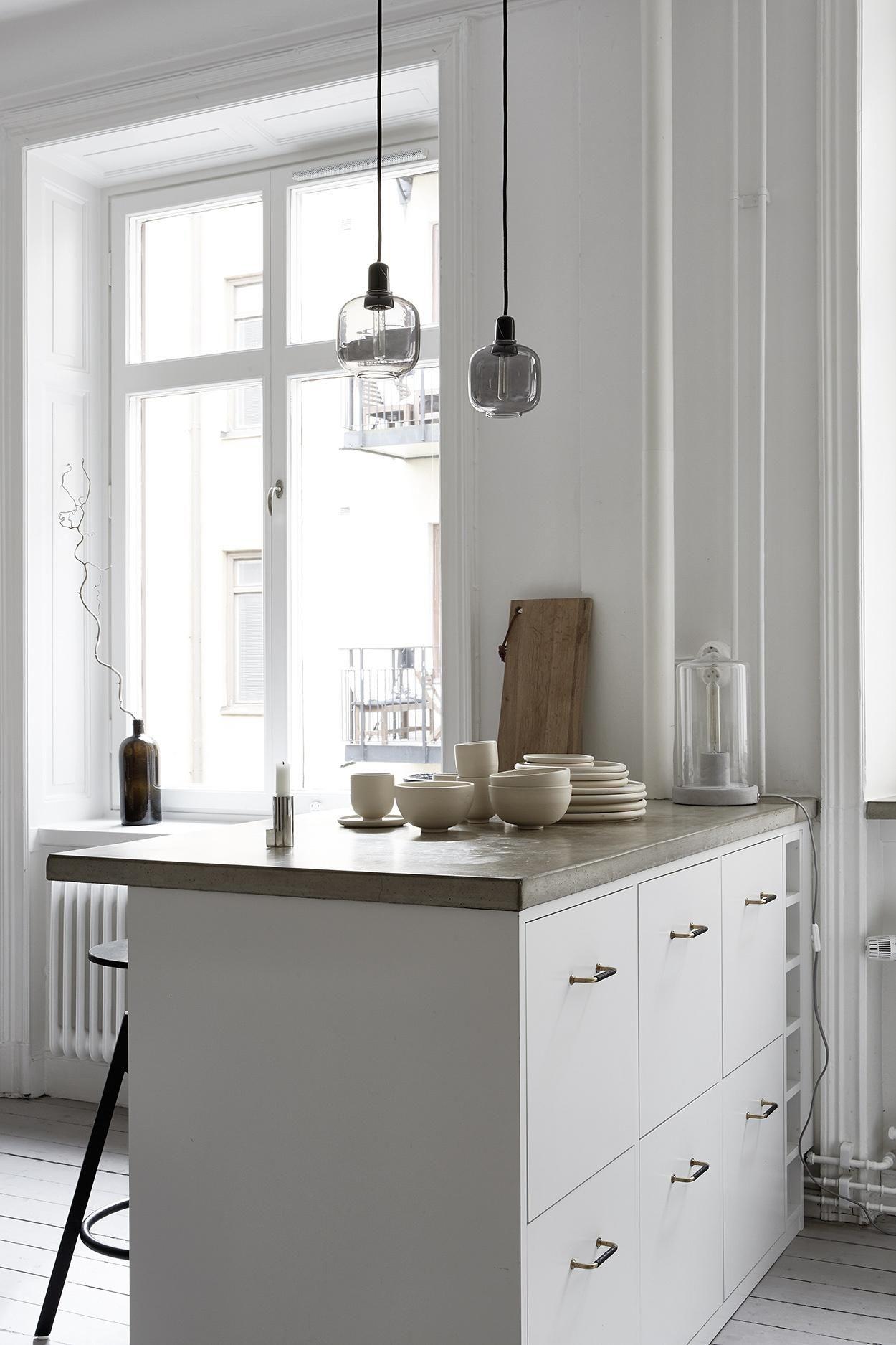 Stylish Home In Natural Colors Via Coco Lapine Design Blog Juliaalena Minimalist Kitchen Design Kitchen Interior Minimalist Kitchen