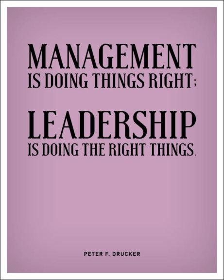 Leadership Is Not Just Being Right More Importantly Doing The Right