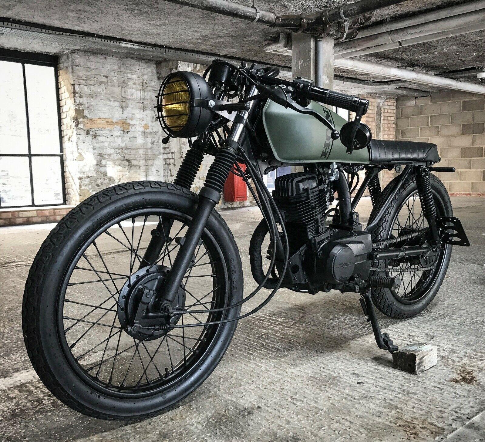 Honda CG 125 Custom Cafe racer / Brat bike | Custom bikes