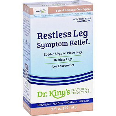 Self Help Audiovisuals: King Bio Homeopathic Restless Leg Syndrome 2 Oz BUY IT NOW ONLY: $69.15