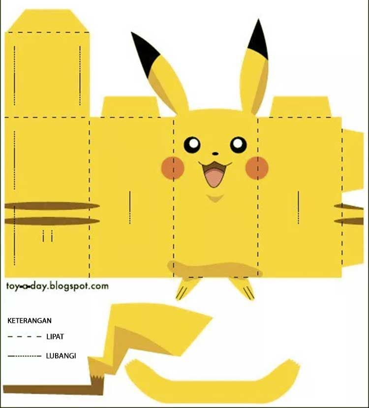 papercraft boneka danbo