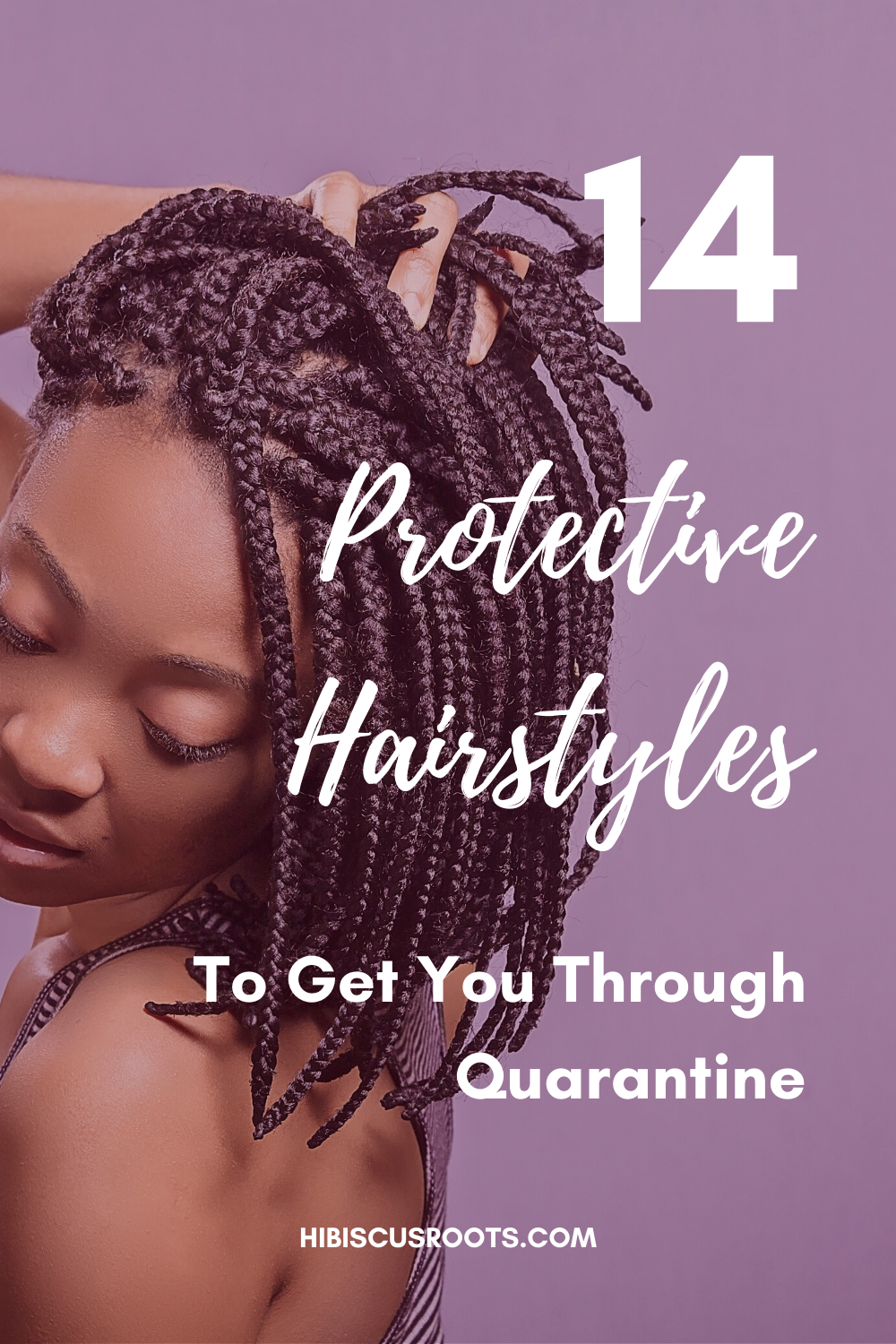 Easy Protective Hairstyles You Can Do At Home In 2020 Natural Hair Styles Hair Styles Protective Hairstyles