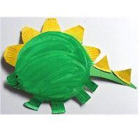 Toilet paper roll dinosaur craft ideas Paper plate dinosaur craft for kids Paper dinosaur crafts Dinosaur bone activity Felt dinosaur craft idea for ...  sc 1 st  Pinterest & Paper Plate Stegosaurus - Kids Crafts   Library   Pinterest   Crafts ...