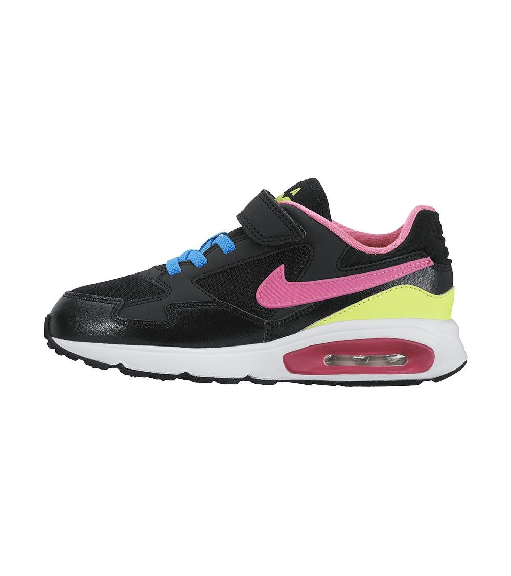new arrival c78a0 71a55 Nike Air Max ST PSV Kids Black Pink Blue, Kids Footwear, www.oishi-m.com