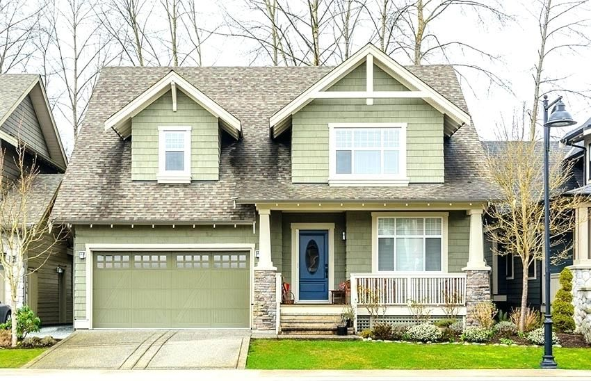 Sage Green House What Color Front Door Green Garage Door Painted House Garage Door Color Ideas Ult Garage Door Colors House Paint Exterior Green House Exterior