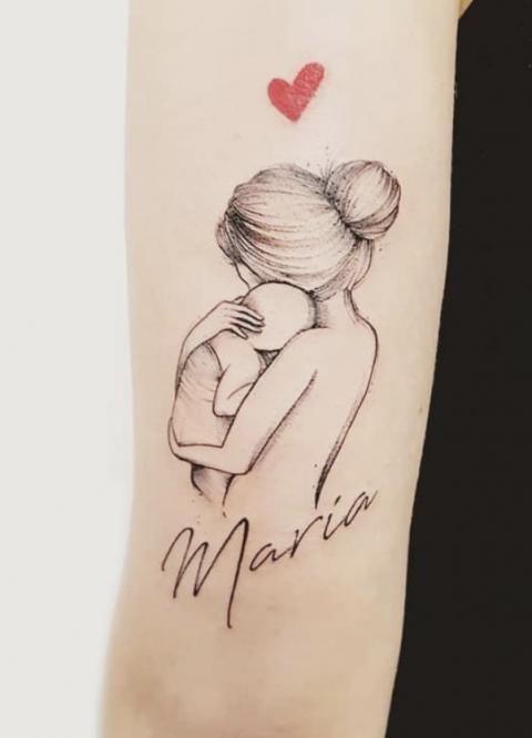 25 tatouages trop mignons qui célèbrent l'amour mère-fille !