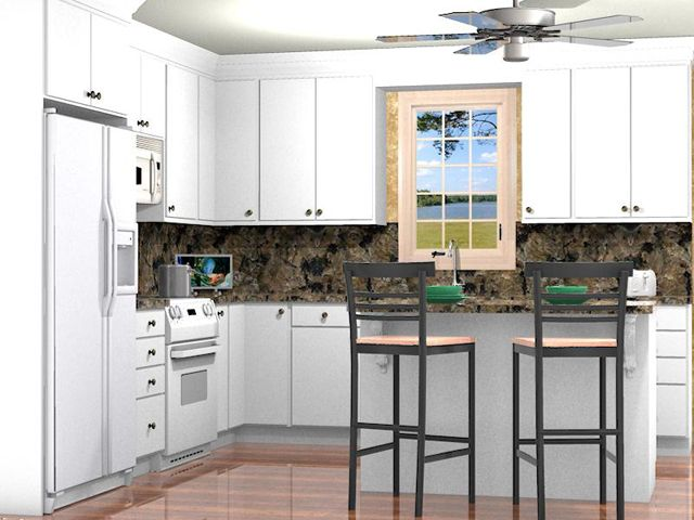 Prokitchen Software Rendering  Prokitchen Software3Dfloor Plan Endearing Pro Kitchen Design Inspiration Design