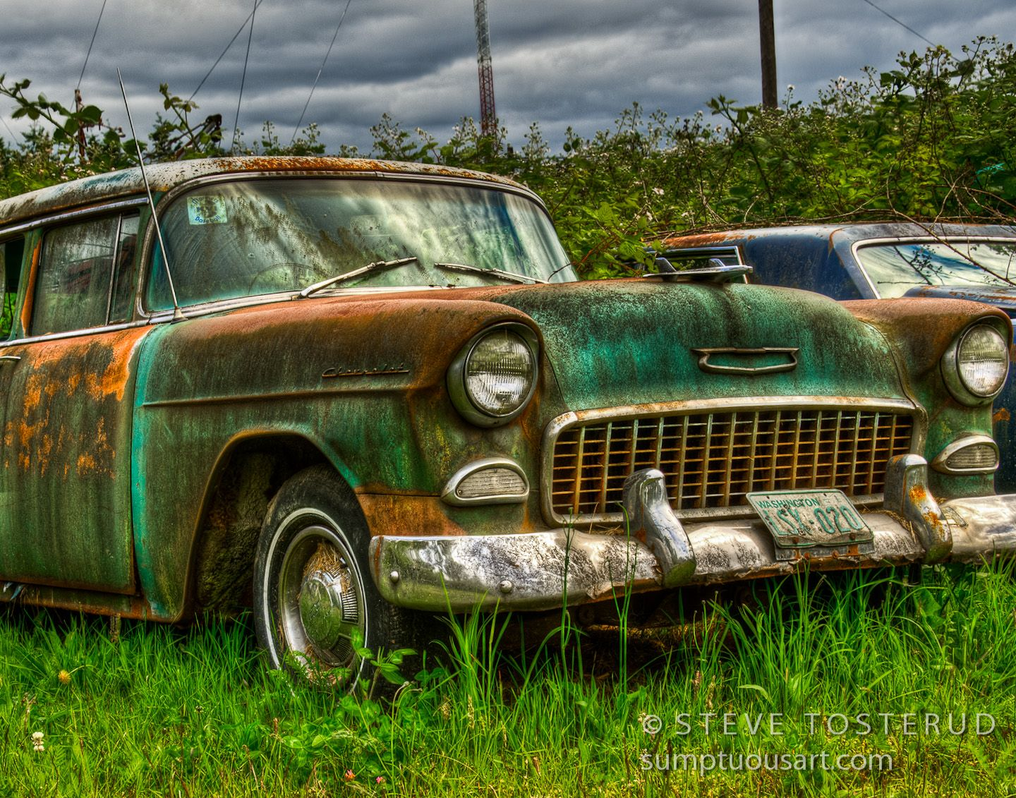 artwork of vintage vehicles - Yahoo Image Search results   Rusty old ...