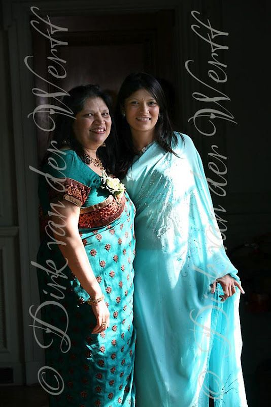 Mother And Sister Of The Bride At Thornton Manor In Cheshire For