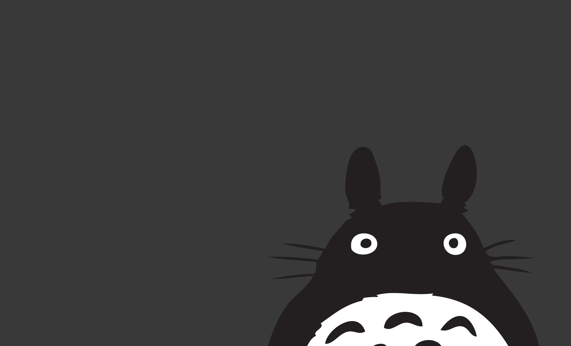 Totoro! Totoro, Desktop wallpaper art, Anime wallpaper