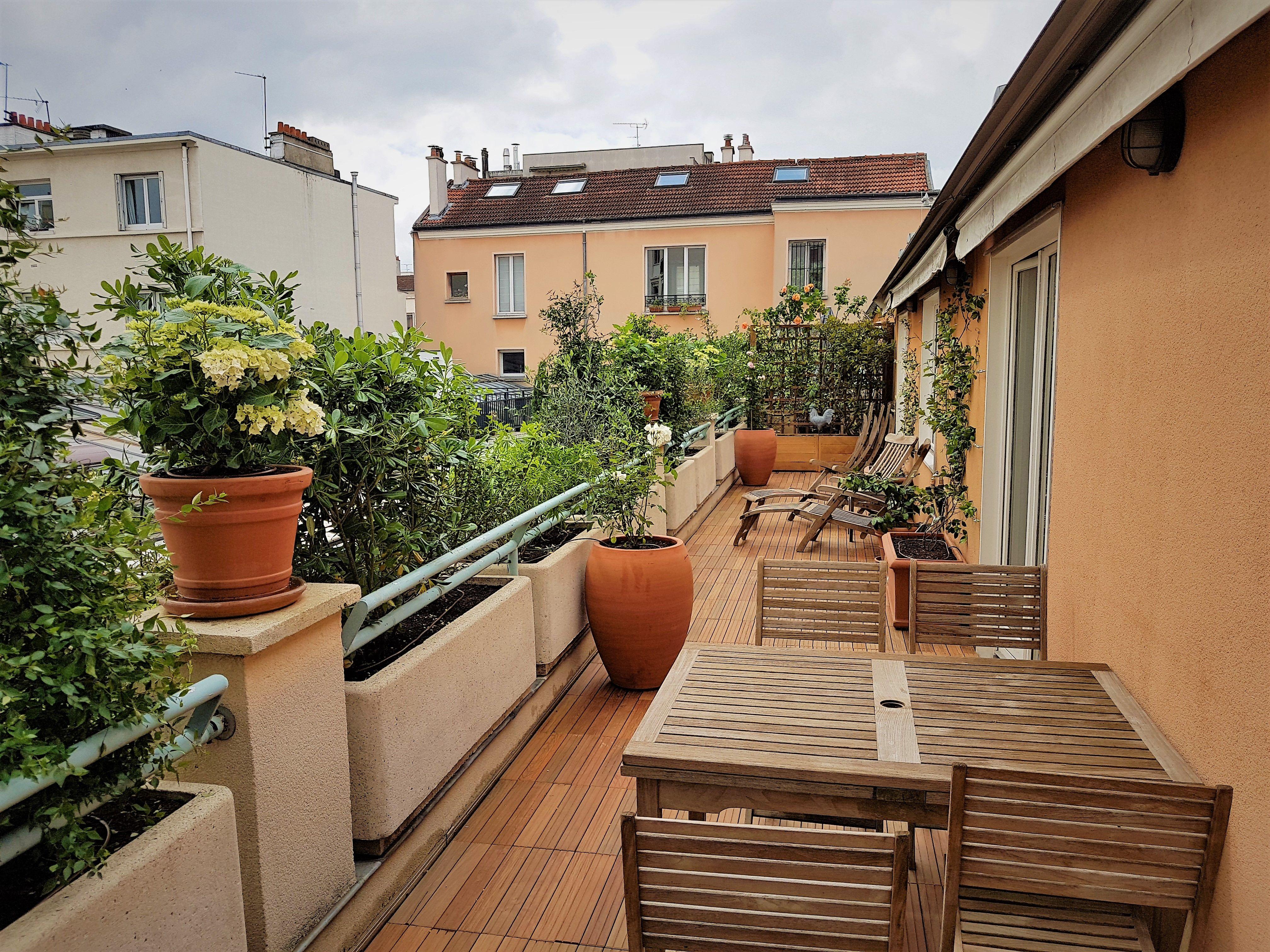 Toits terrasses et Balcons – Paysagiste Paris (75) – Apex Paysage