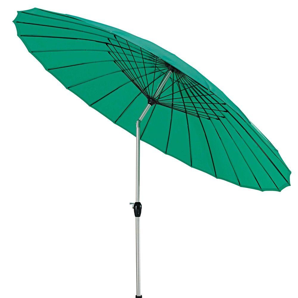 parasol en tissu et aluminium blanc parasol parasol inclinable et maison du monde