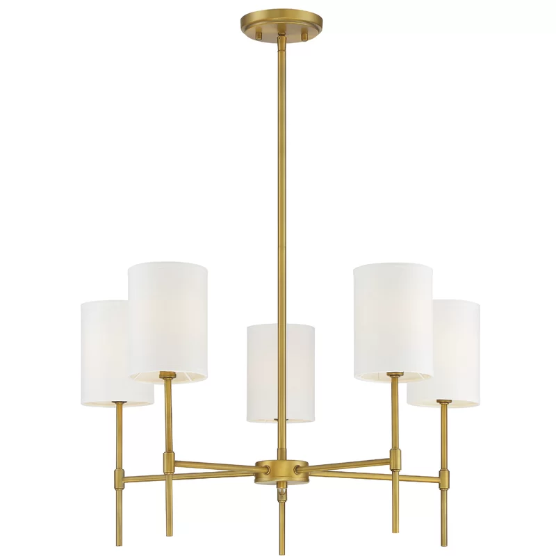 Dacosta 5 Light Shaded Classic Traditional Chandelier Traditional Chandelier Chandelier Shades Brass Chandelier Dining