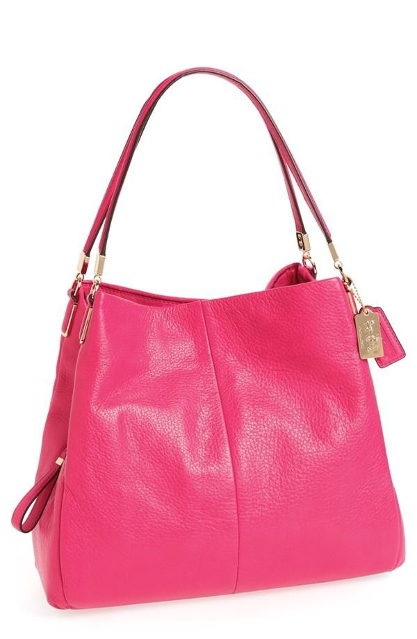 Love Pink Leather Should Bag Coach My Favorite Purse But I Didn T Know It Came In