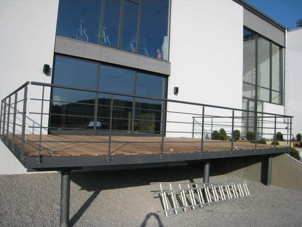 terrasse sur pilotis - Recherche Google Aménagements extérieur - Terrasse Sur Pilotis Metal