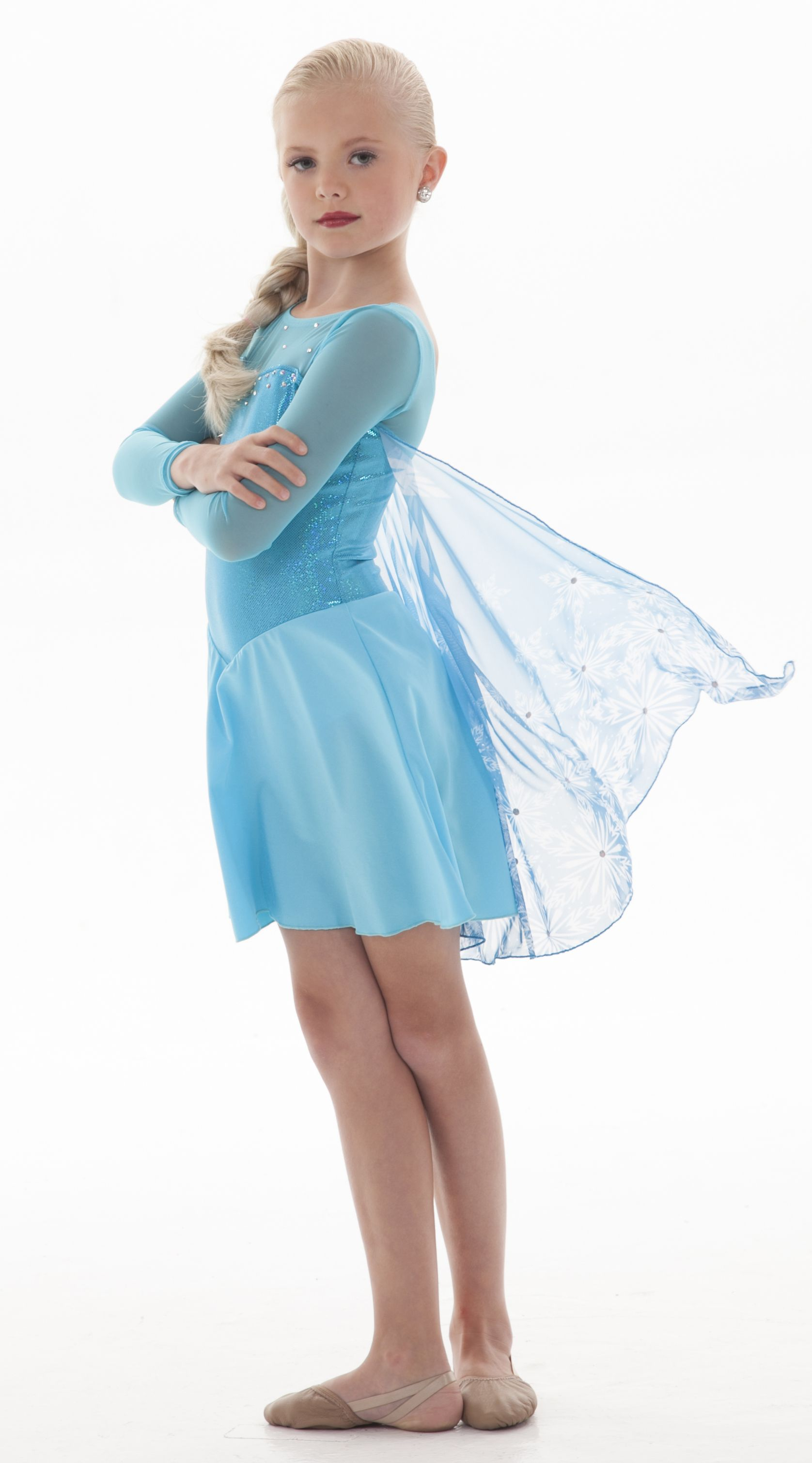 elsa costume perfect for dance or skate or a great elsa halloween costume - Halloween Costumes Of Elsa