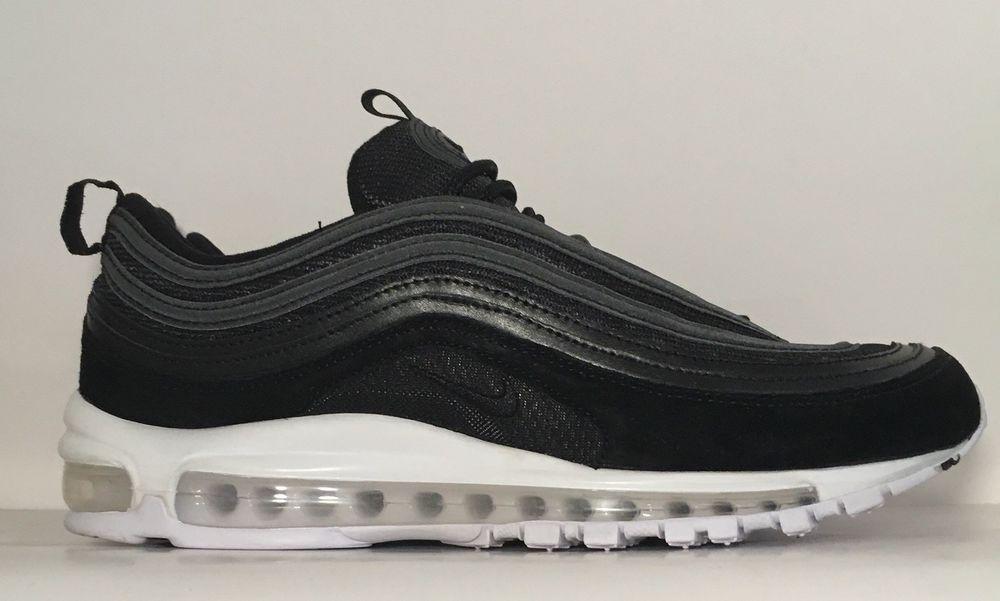 on sale d2acf f16ca SZ.10 Nike Air Max 97 921826-003 Black BlackWhite