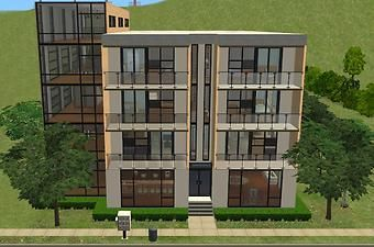 Mod The Sims Valencia Apartments Modern Housing For Your