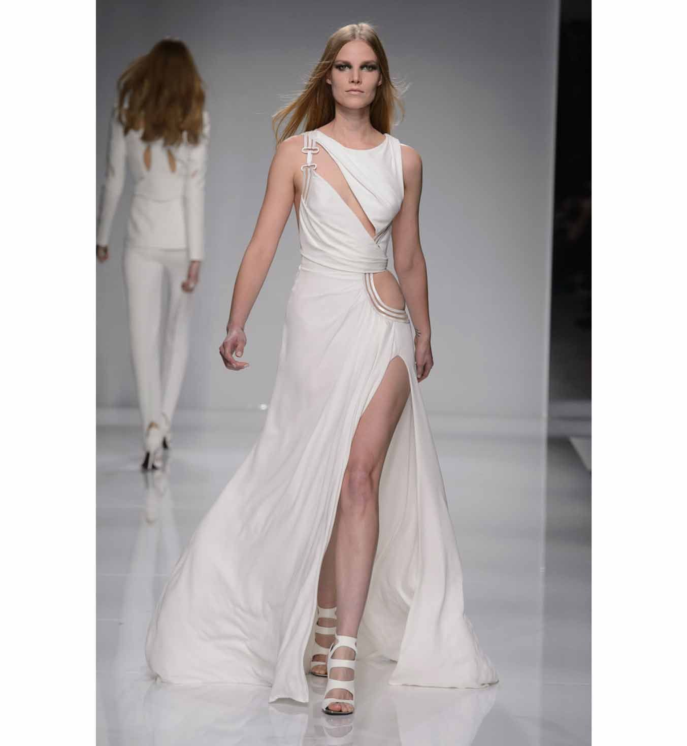 Versace wedding dress  robemarieeversace  HAUTE COUTURE  Pinterest  Versace and Robe