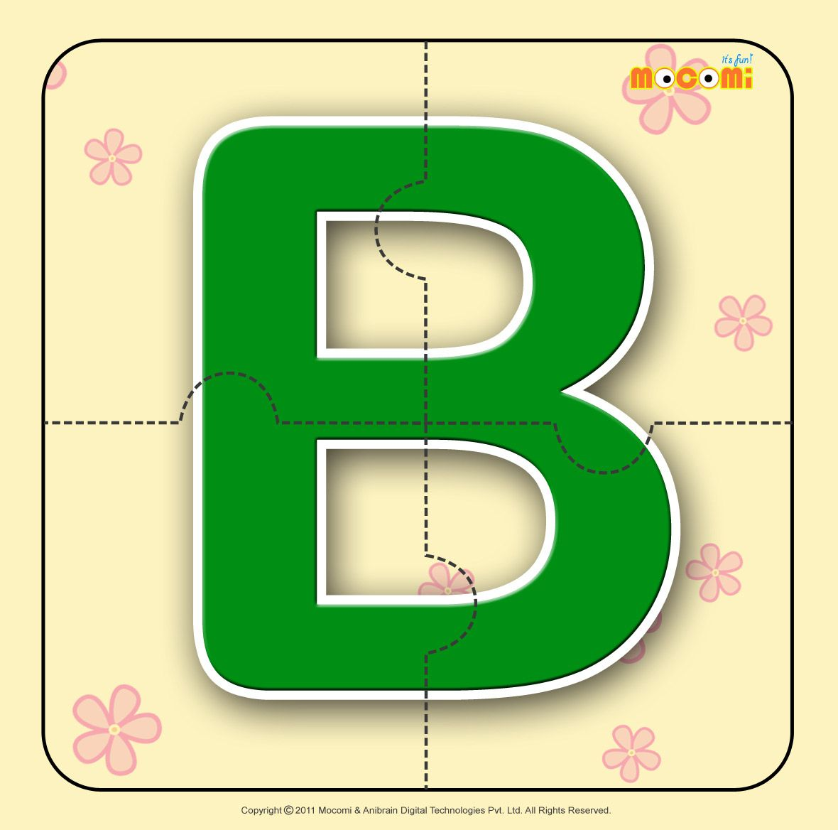 Alphabet B - Alphabet Jigzaw Puzzles for Kids | Activities