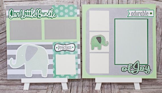 Any Color or Gender, Any Theme, Custom Premade Kit, Personalized Scrapbook Page,...#color #custom #gender #kit #page #personalized #premade #scrapbook #theme