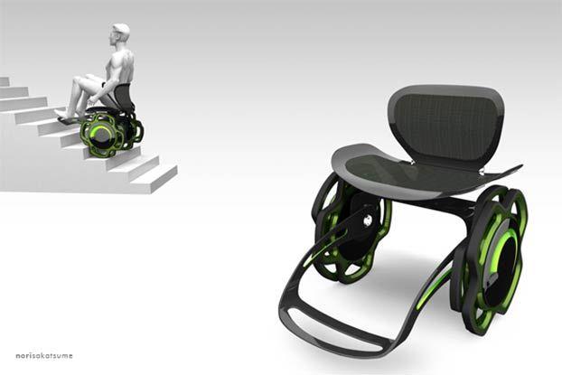 Sedia a rotelle per salire le scale quatro scale per disabili