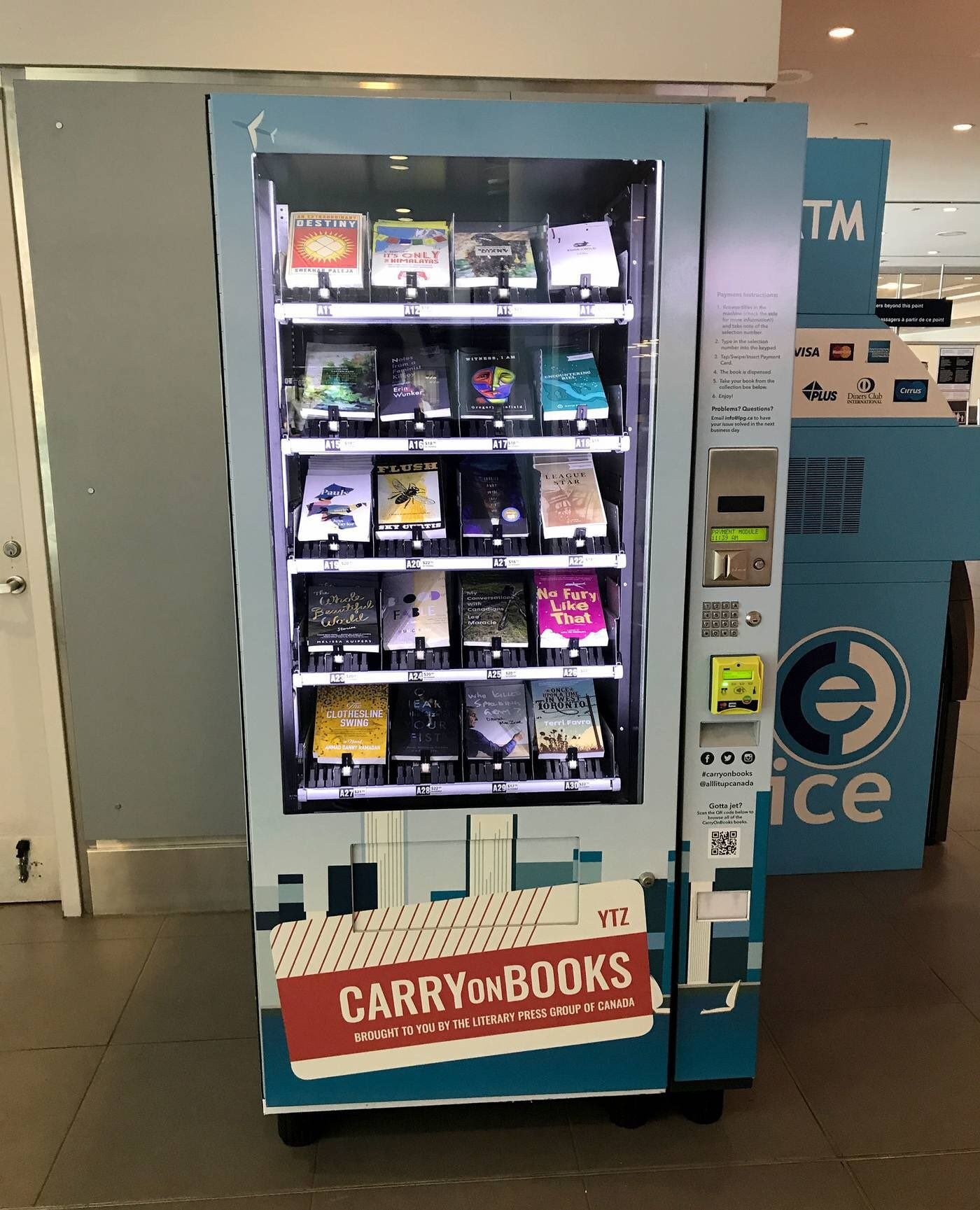 A Vending Machine For Books Vending Machine Vending Machine Diy