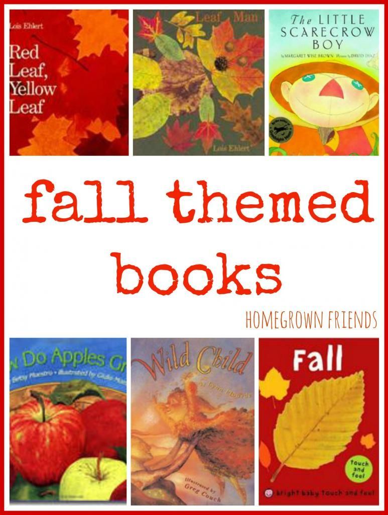 Fall themed books!