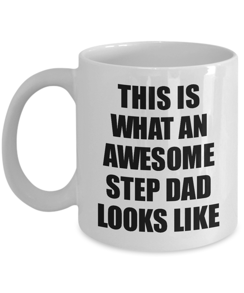 Awesome Step Dad Mug Funny Gift Idea For My Step Father