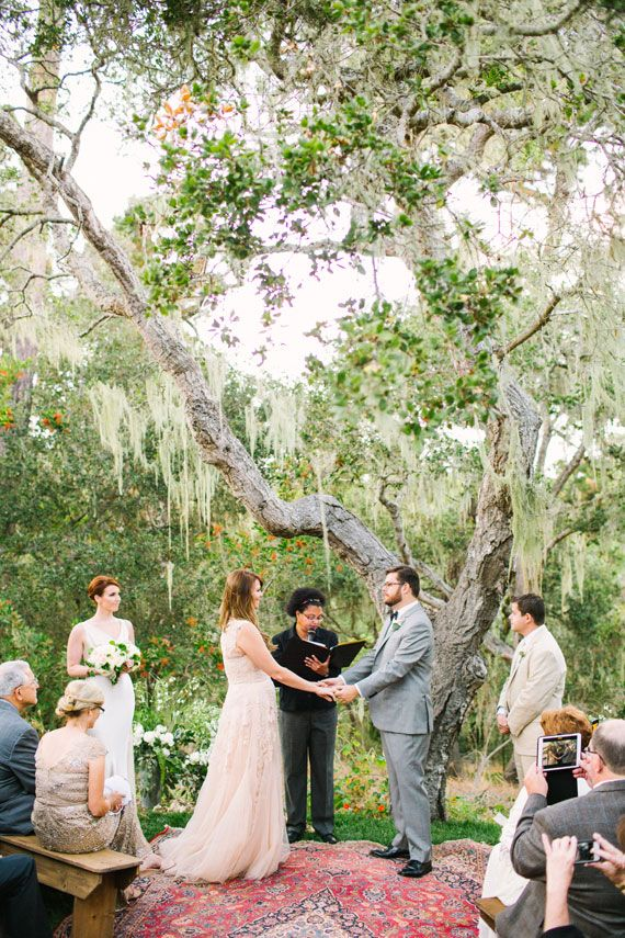 Spanish villa ceremony Photo by Birds Of a Feather