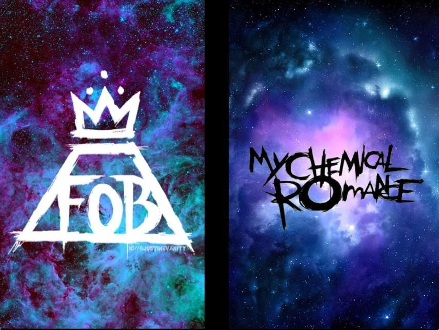 Fall Out Boy Song Lyrics Wallpaper Now You Guys Can Have A Wallpaper Of The Fob Logo And Mcr