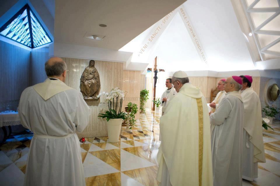 Homilías del Papa Francisco. Enero de 2014  Lee, medita, reza y comparte -> http://yorezoxelpapa.wordpress.com/francisco-desde-santa-marta/homilias-papa-francisco-ano-2014/homilias-del-papa-francisco-enero-de-2014/