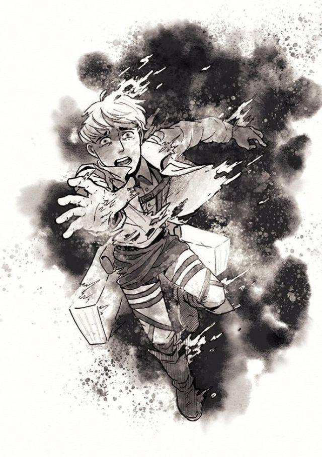 "Moblit Berner :""(🖤  SNK   Attack on titan art, Attack on titan, Anime"