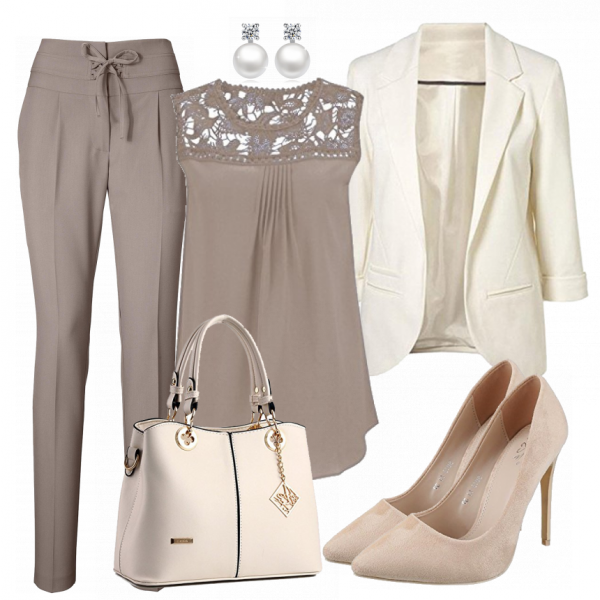 BusinessLady Damen Outfit - Komplettes Business Outfit günstig kaufen | FrauenOutfits.de #businessmodedamen