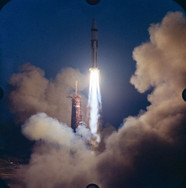 Fire in the Hole\u0027 50 Years Since Apollo 5, First Lunar Module Test