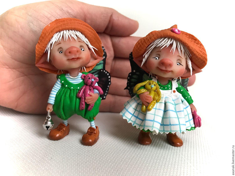 Купить Джуди и Сэм - коричневый, фея, феи, сказочный ...