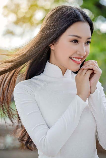Hair and Asian beauty | Sản phẩm làm đẹp, Áo dài, Phụ nữ