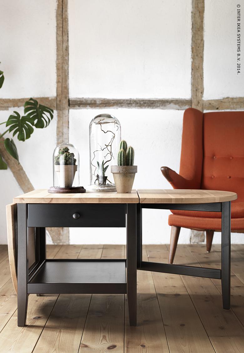 Salontafel Zweeds Design.Arkelstorp Salontafel Zwart 65x140x52 Cm Koffietafel