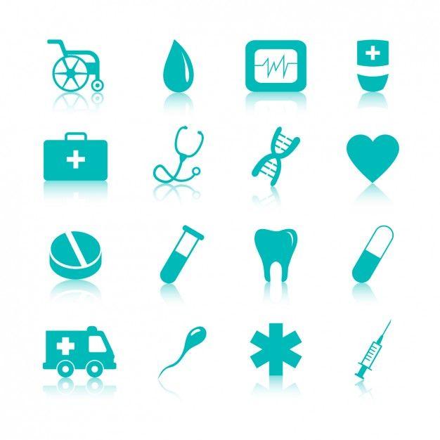 a005b01a3 Iconos médicos Vector Gratis
