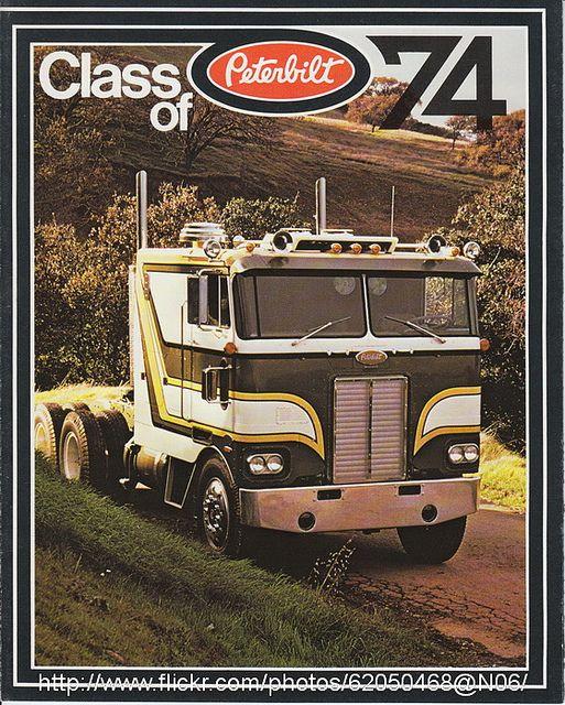 Coe Peterbilt Paint Schemes Peterbilt Big Rig Trucks Vintage Trucks