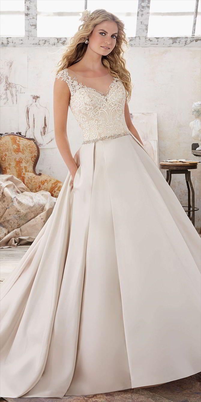 e3cfb9015ded Mori Lee by Madeline Gardner Spring 2017 Wedding Dresses