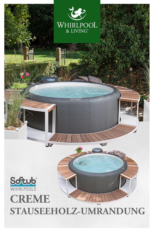 Die 5 Schonsten Umrandungen Fur Ihren Softub Whirlpool Stauseeholz Umrandung Creme Whirlpool Garten Aufblasbar Whirlpool Garten Whirlpool