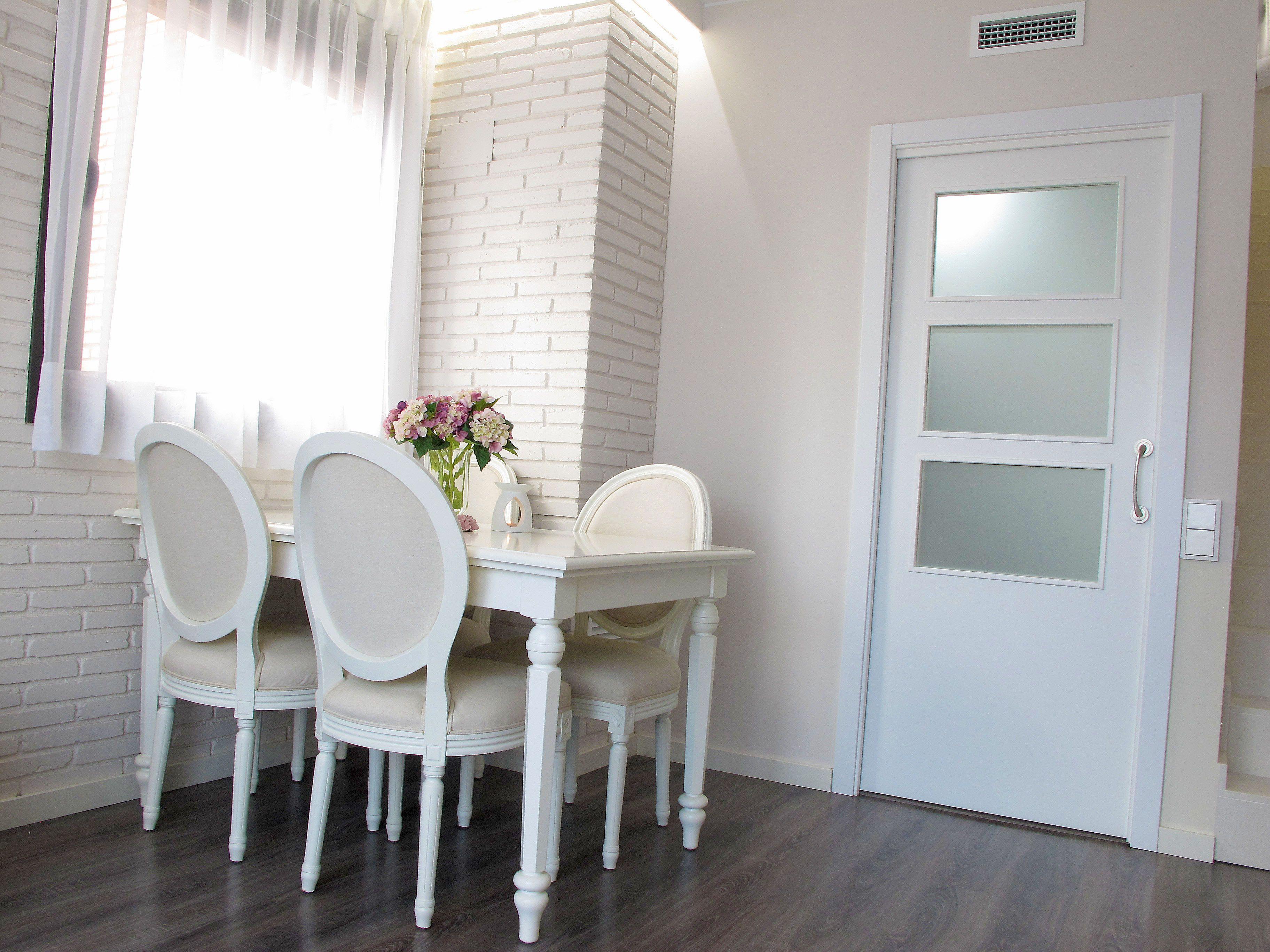 Puertas Pintadas O Lacadas Puertas Blancas Suelo Laminado Puertas  ~ Puertas Blancas Lacadas O Pintadas