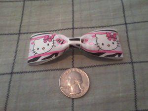 Free Stuff: 2 Hello Kitty Hair Bows - Listia.com Auctions for Free Stuff